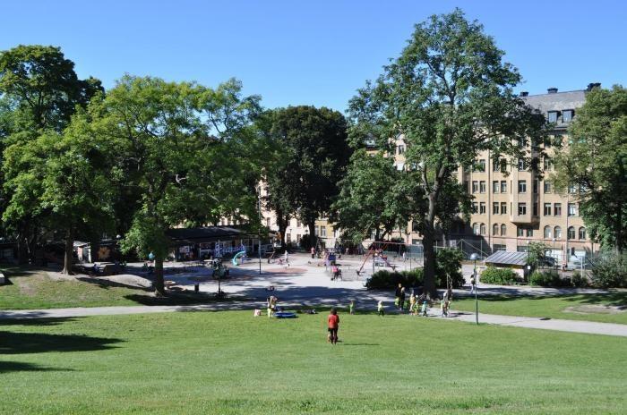 Kronobergsparken in Stockholm