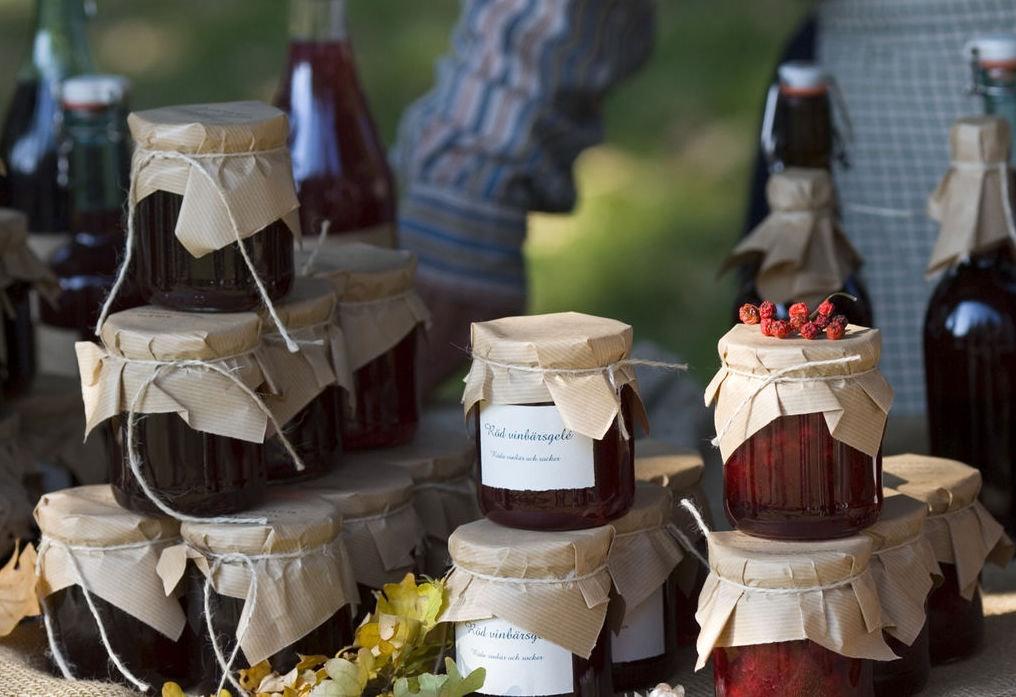 artisanal marmelade at Skansens Marknader