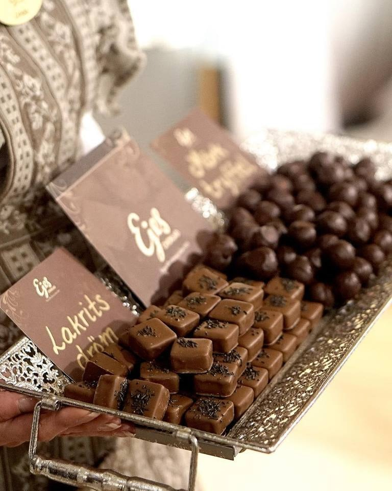 chocolate bonbons from Ejes Choklad