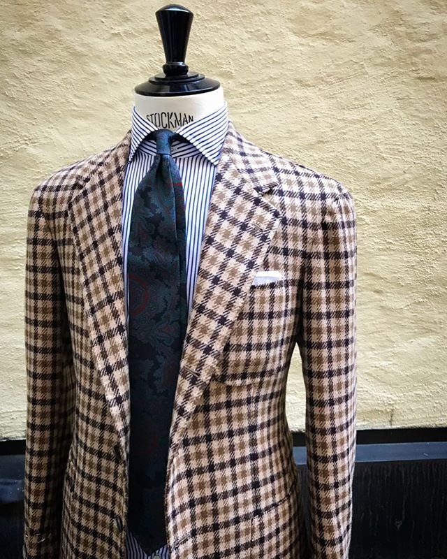 men's suit from Lund & Lund