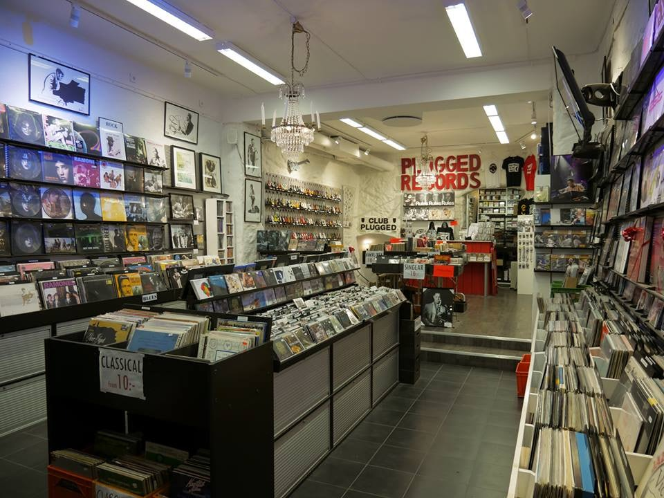 Plugged Records store