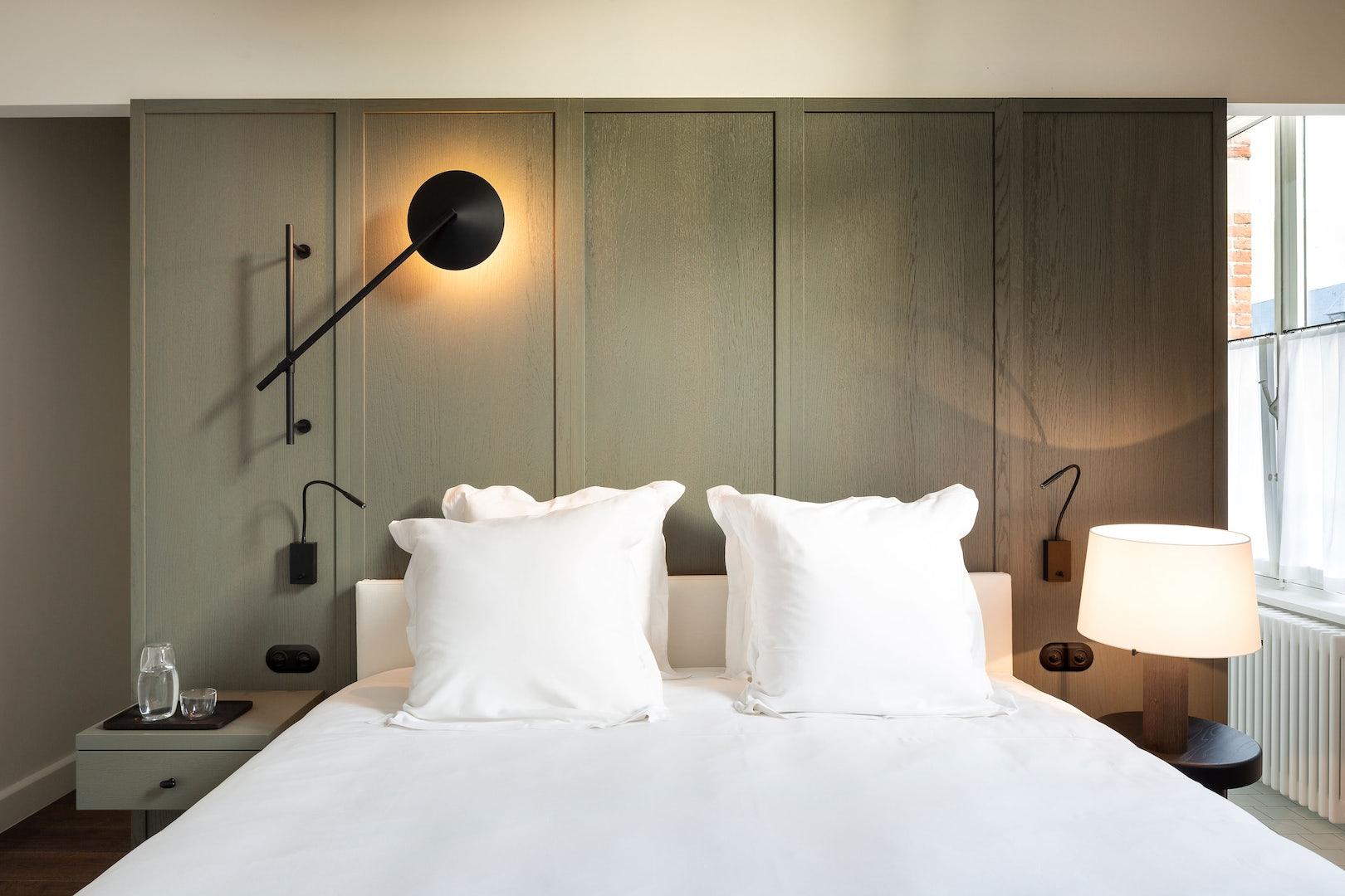 Antwerp - Hotel August - room interior