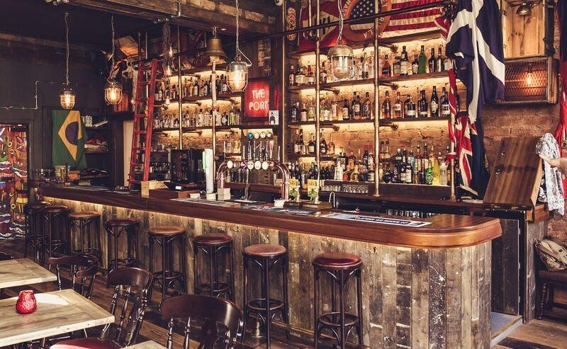 Port o leith Edingburgh bar interior