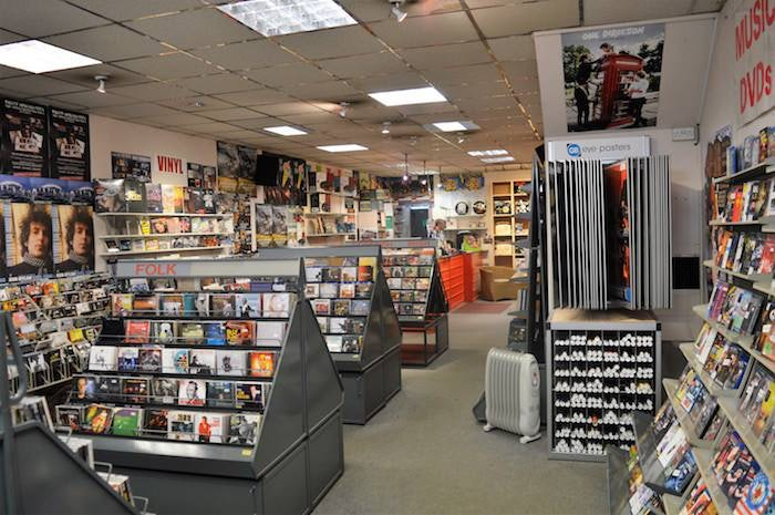 Scotland - Perth - Concorde Music shop interior