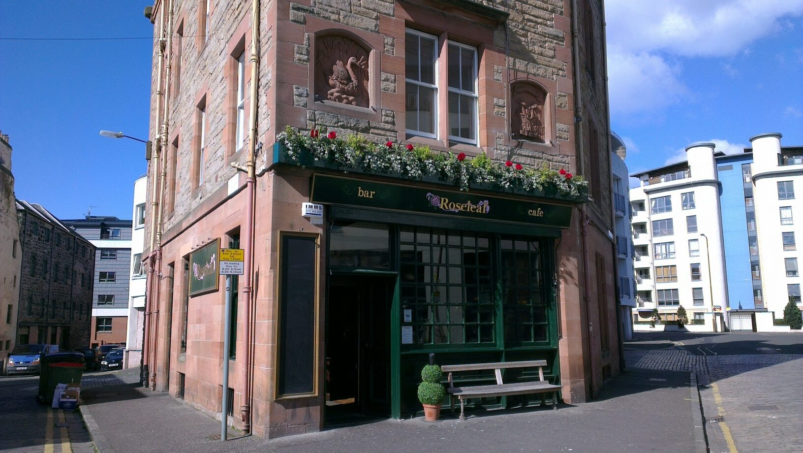 street front of  The Roseleaf pub
