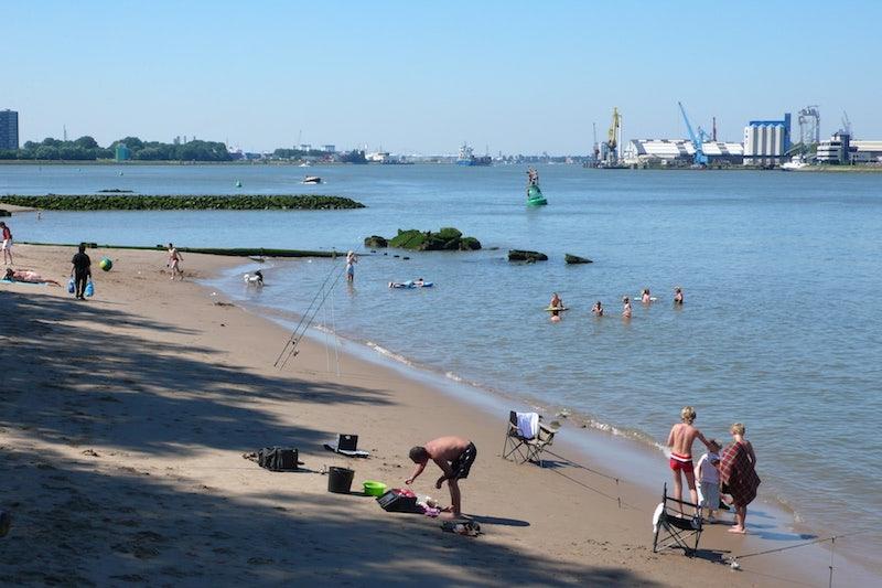Quarantine Beach Heijplaat
