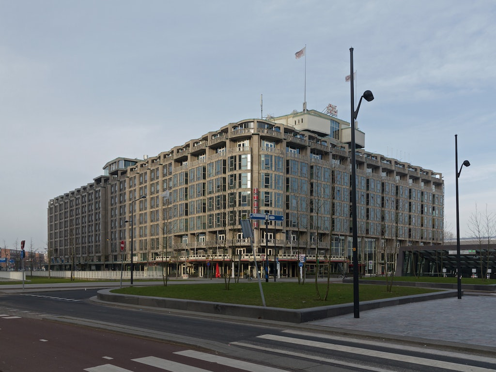 exterior of Groothandelsgebouw in Rotterdam