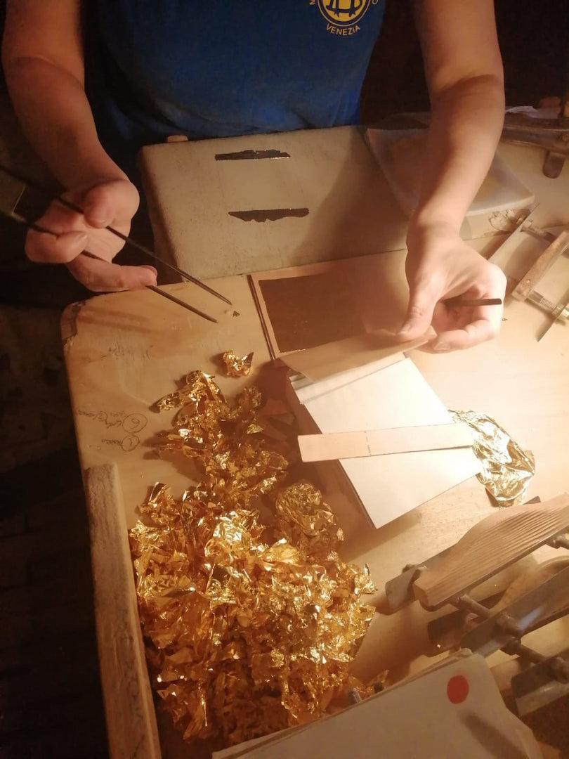 Venice - Berta Battiloro gold processing