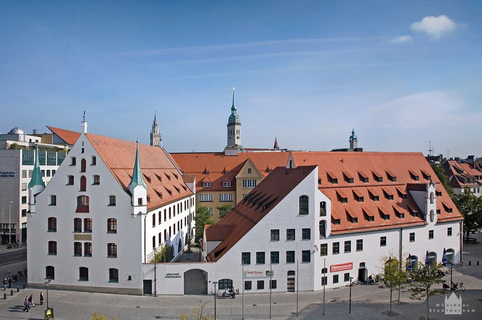 exterior of Münchner Stadtmuseum