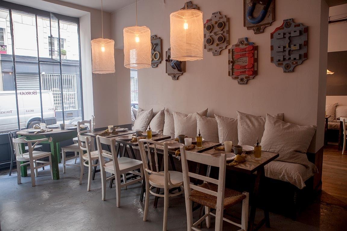 restaurant interior of Borgo delle Taviglie