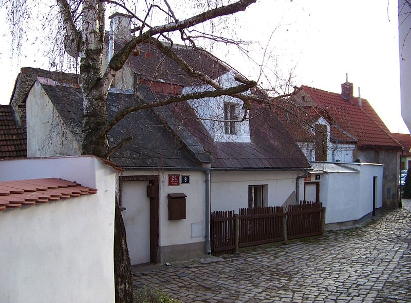 Na Kocourkách street in Prague