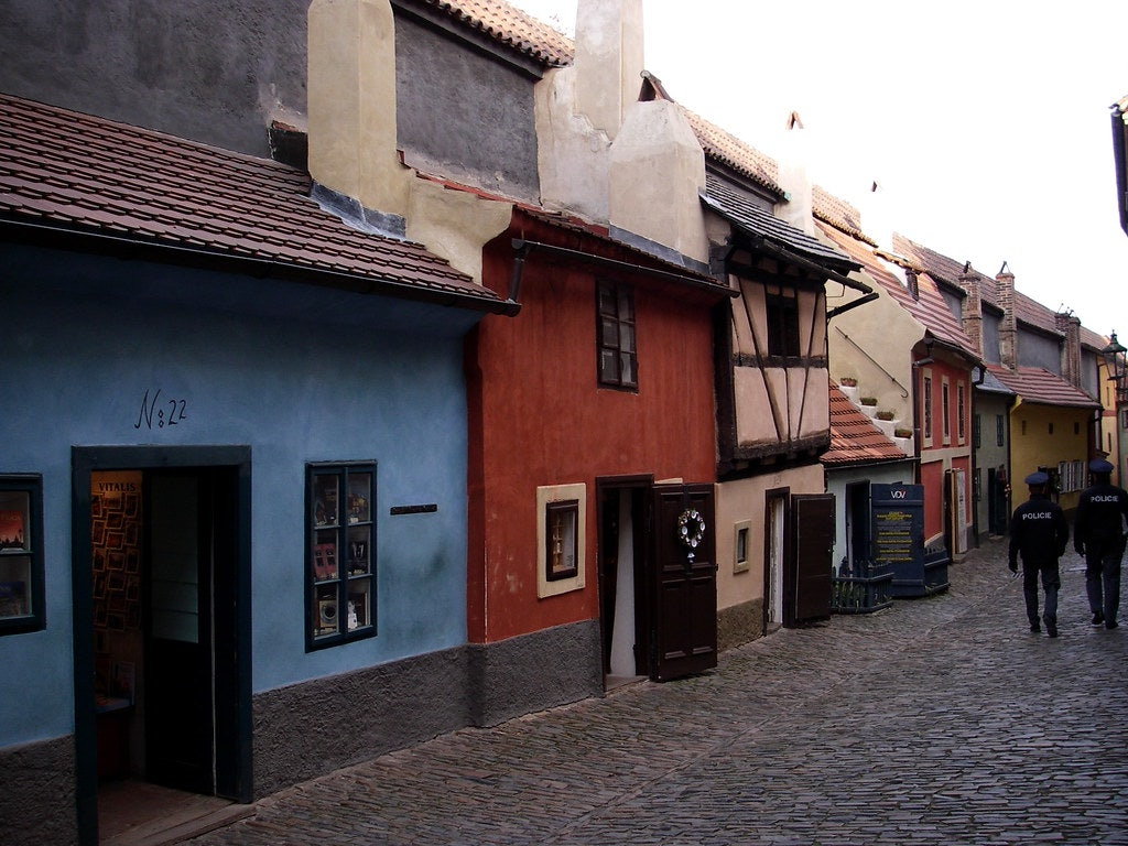 Zlata street / Golden Lane in Prague