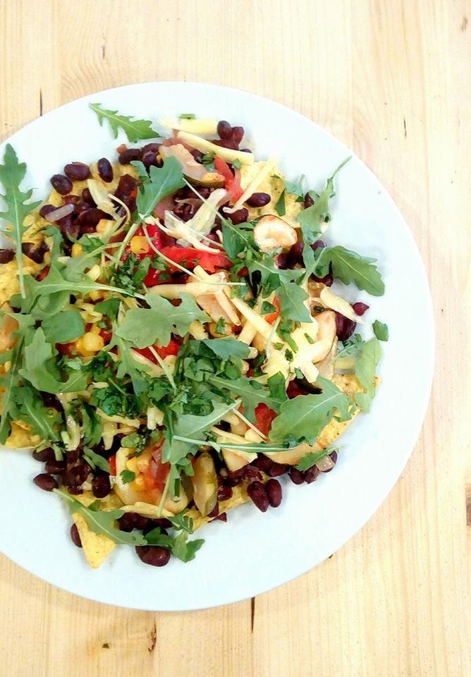vegetarian salad from Bistro Střecha