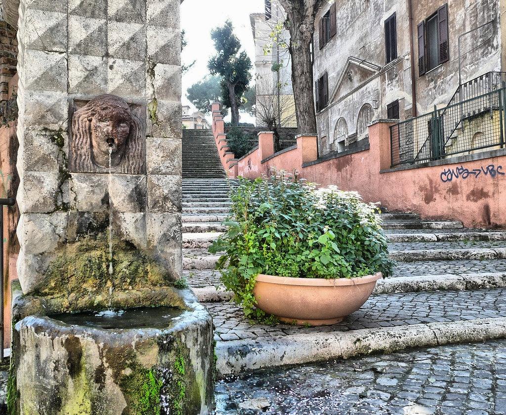 Fontana della Carlotta in Rome
