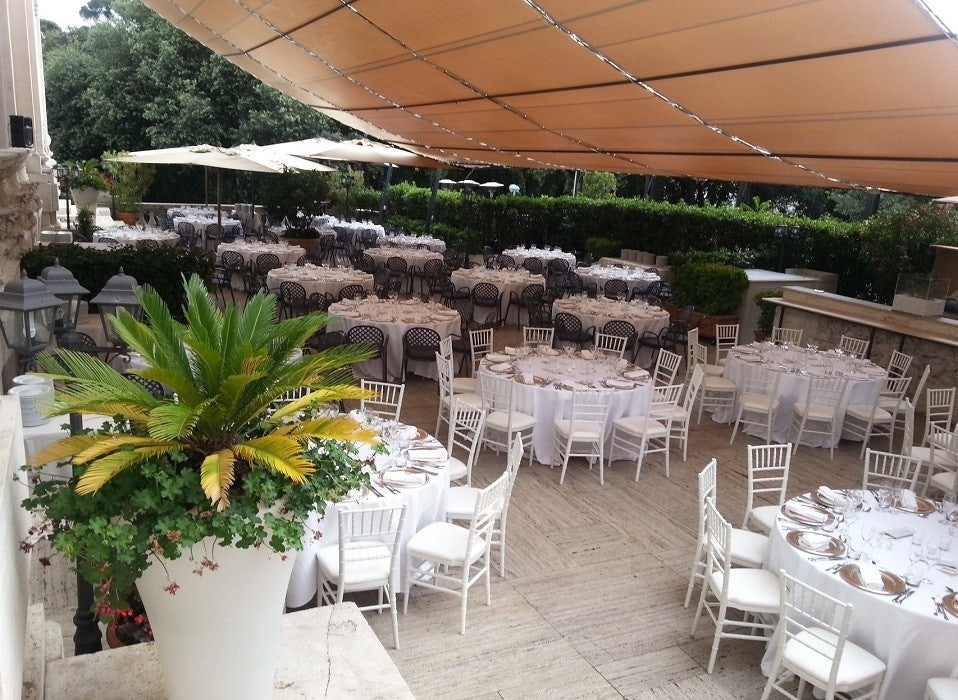 5 Cool Restaurants With A Terrace In Rome The 500 Hidden