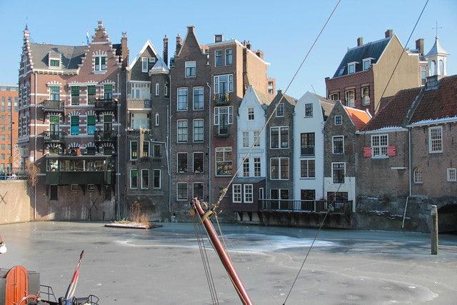 Historic houses in Delfshaven