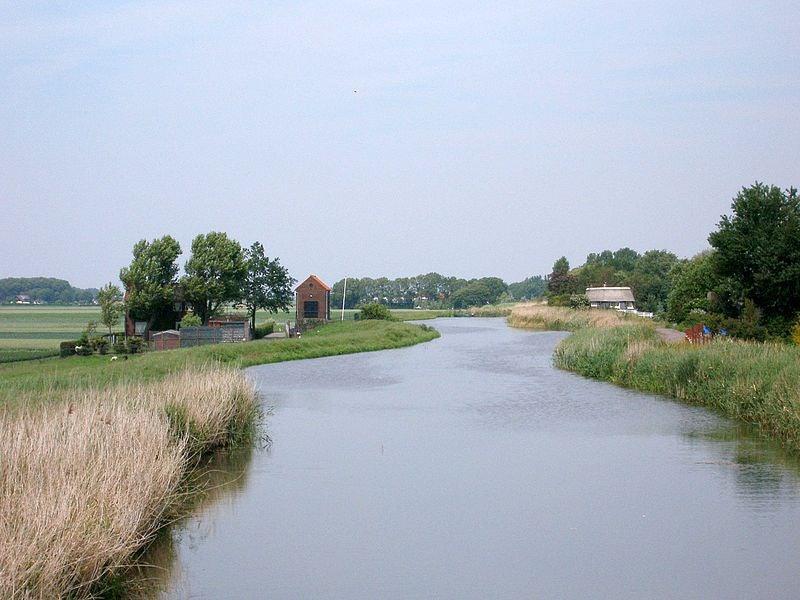 The Rotte river near Rotterdam