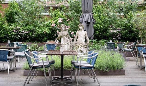garden at cafe restaurant Floor