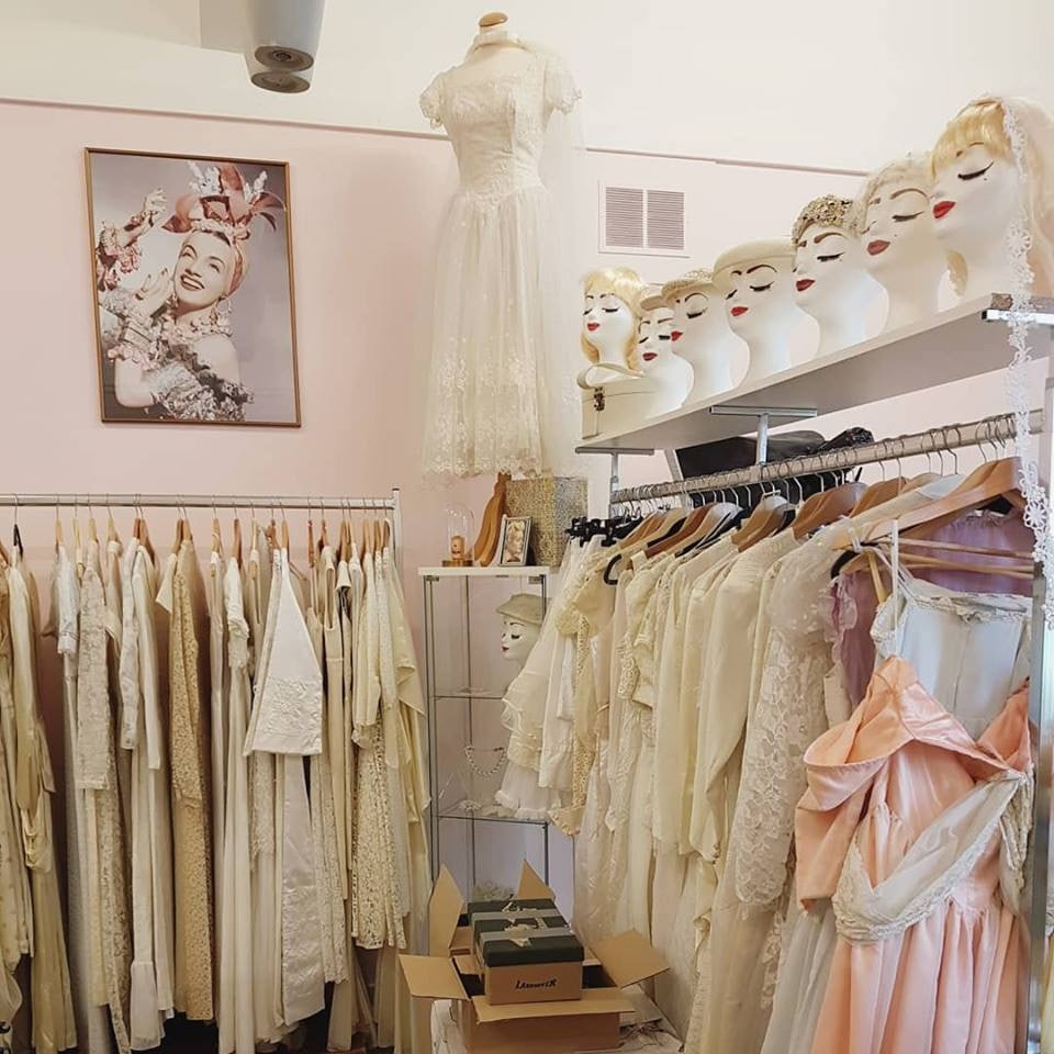 pastel coloured fashion at Bobby Pin Boutique