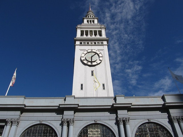Ferry tower in San Francisco