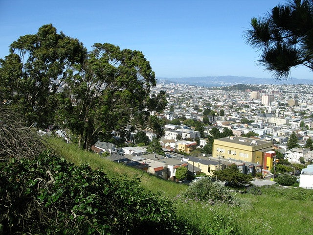 Billy Goat Hill in San Francisco