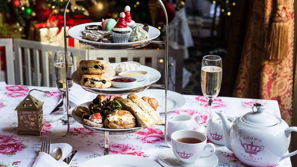 a high tea from Crown and Crumpet