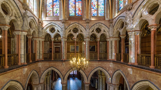 Marble Hall Gallery in Mount Stuart House
