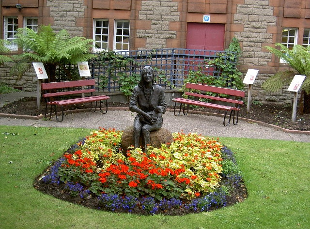 The Lady Linda McCartney Memorial Garden in Scotland