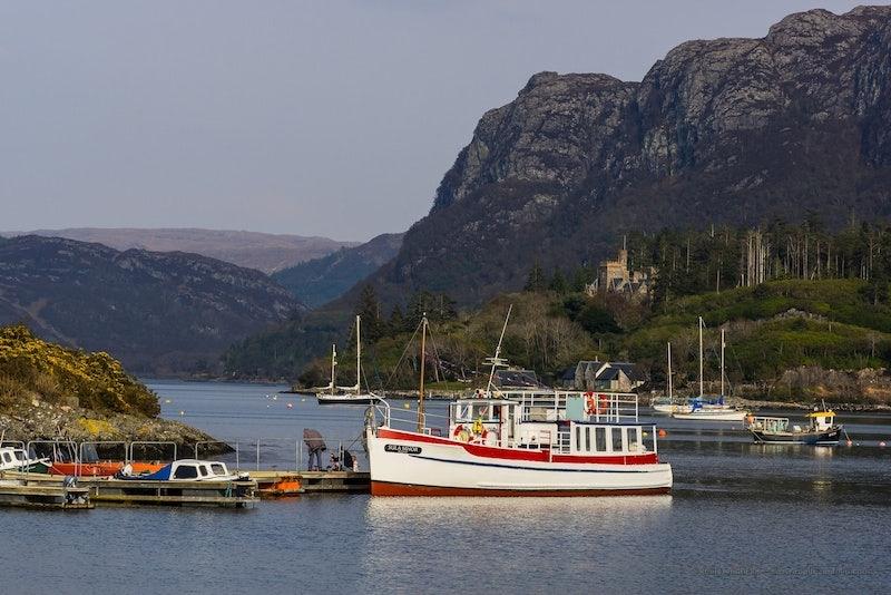 Calum's Seal Boat trips in Plockton Scotland