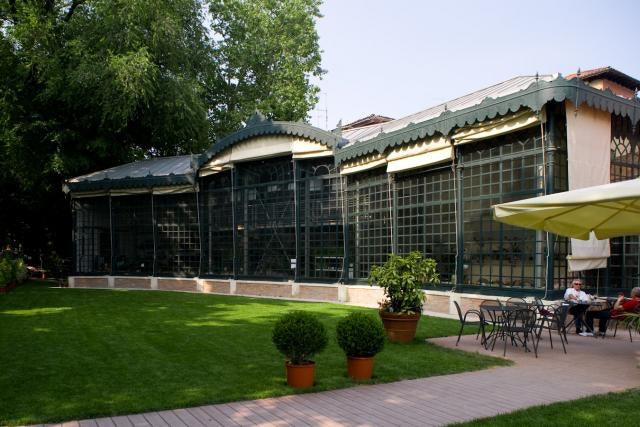 Venice - La Serra dei Giardini greenhouse exterior