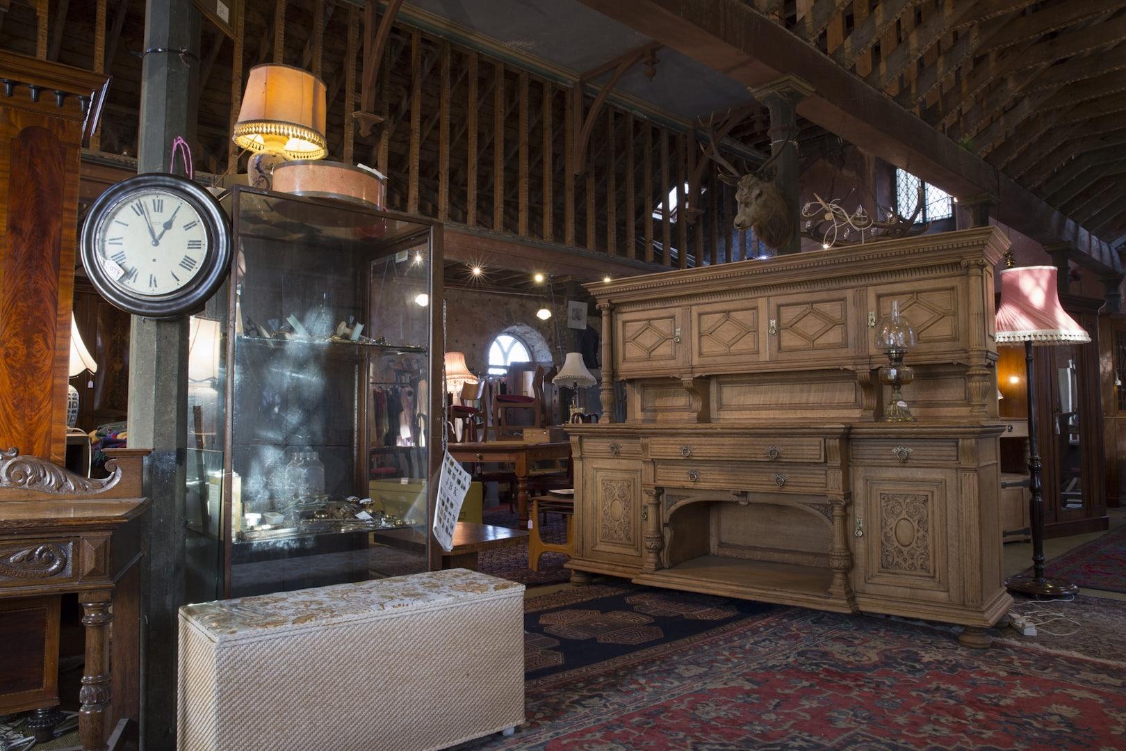 Scotland - Auldearn Antiques shop