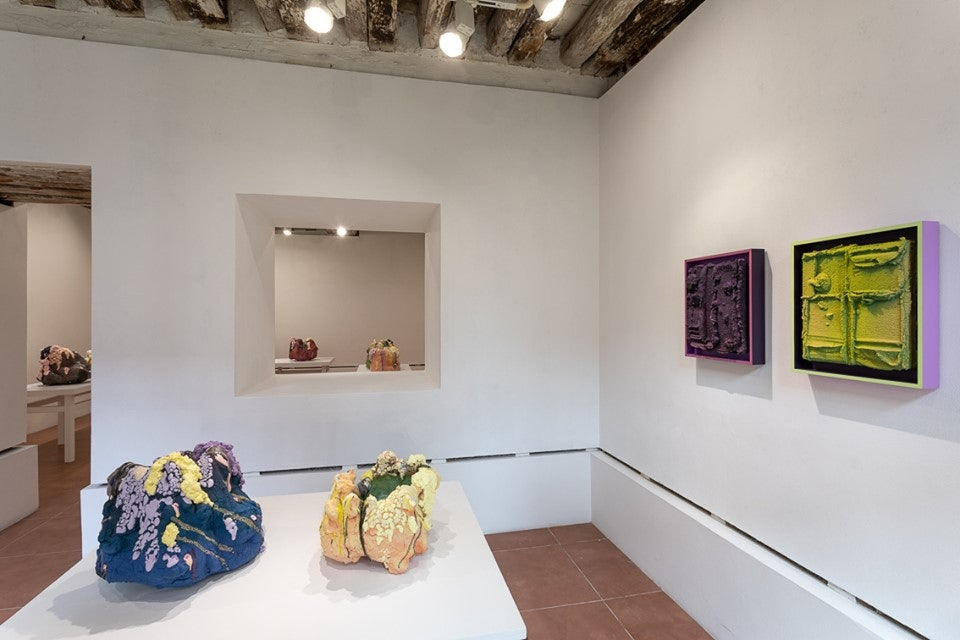 art displayed at Caterina Tognon Art Gallery