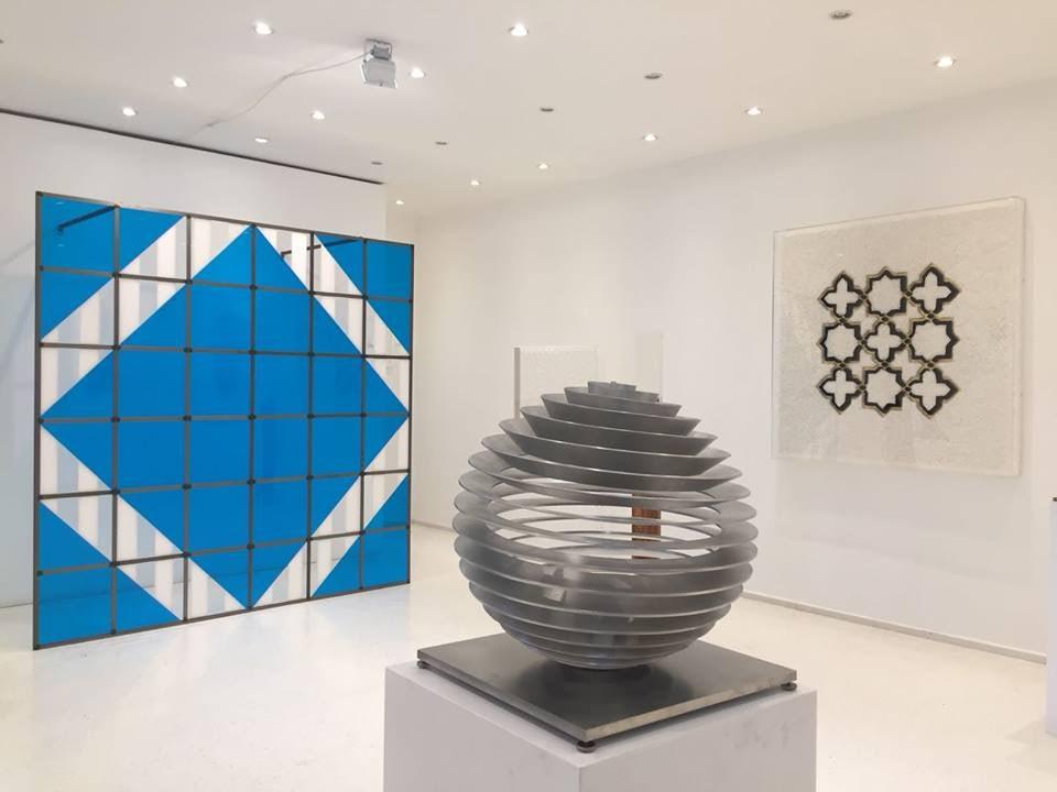 contemporary art exhibited at the Galerie Dorothea van der Koelen