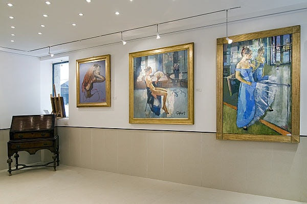 artworks at the Holly Snapp Gallery