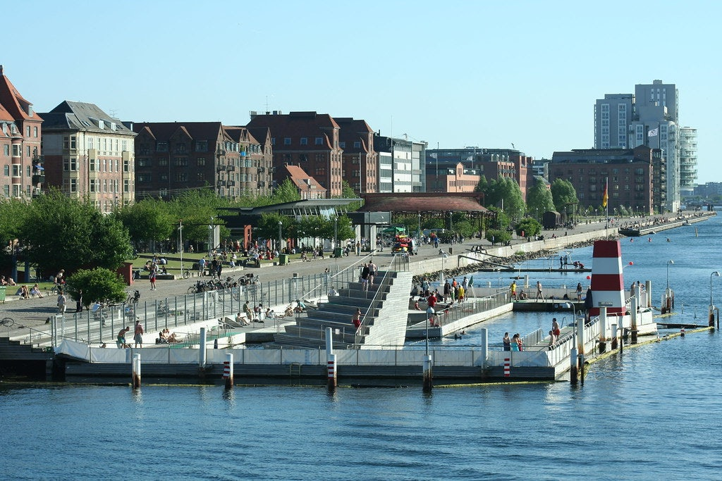 Copenhagen - Harbour Bath swimming