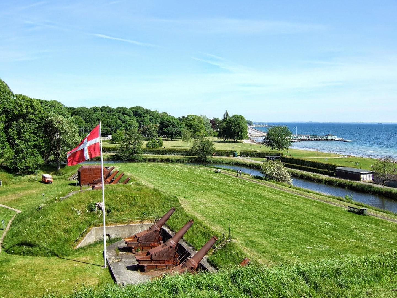 Copenhagen - Charlottenlund fort beach park
