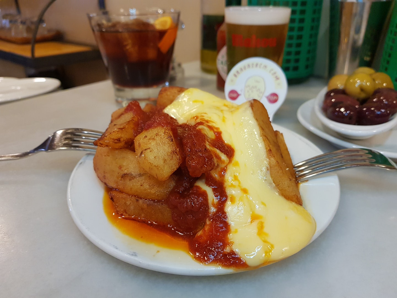 Barcelona - Bar del Pla patatas bravas
