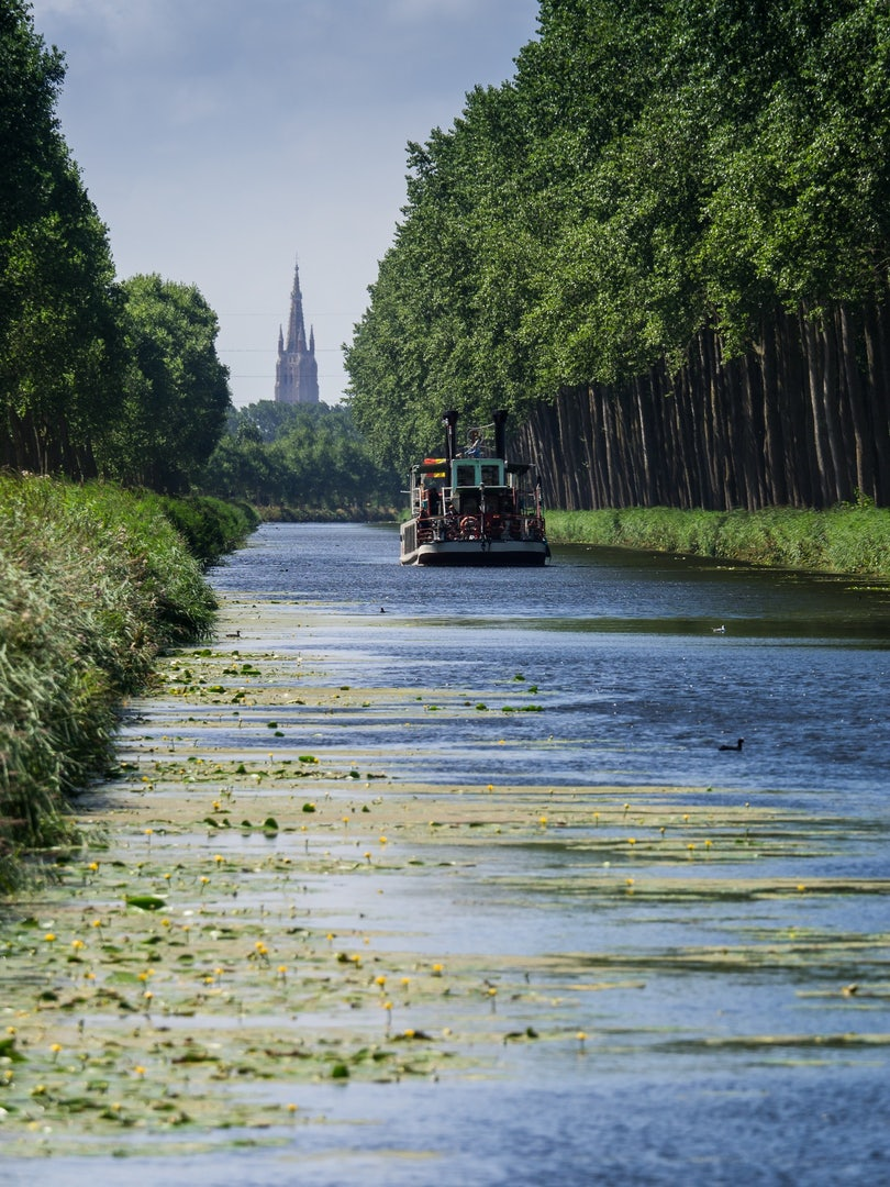 Belgium - Damse Vaart bike route