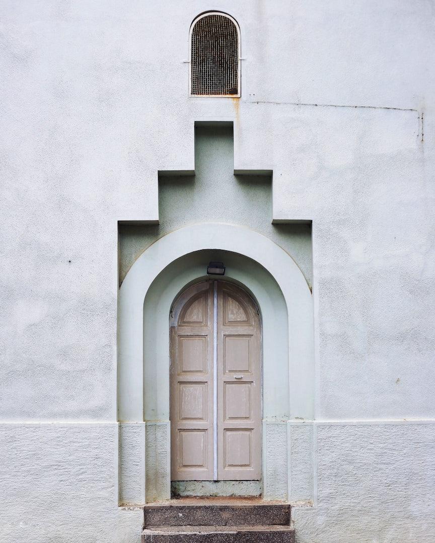 Istanbul - Burgazada Island ornamental doorway