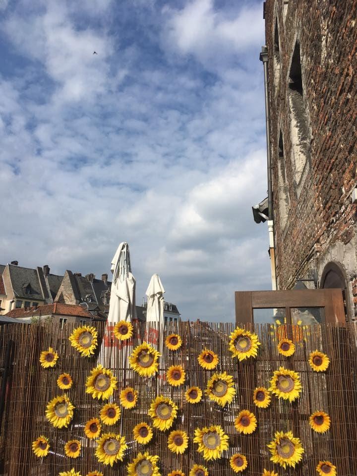 Ghent - Café Het Spijker terrace