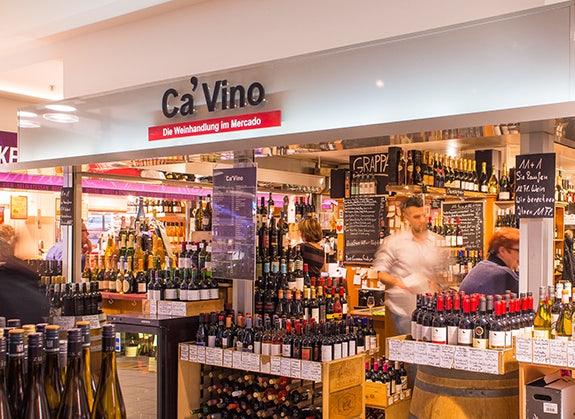 Ca' Vino wine stand