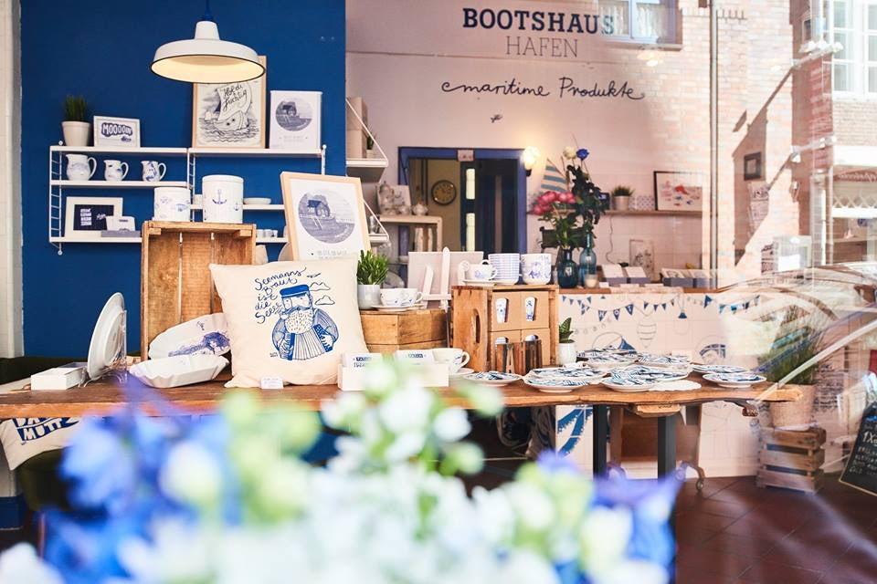 decoration products at Bootshaus Hafen in Hamburg