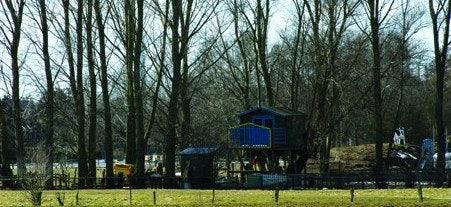 Tree house in Wilhelmsburg Hamburg
