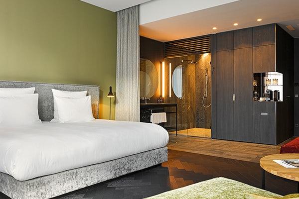 A standard room at East Hotel Hamburg