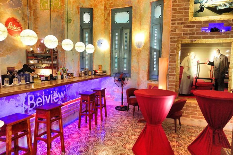 restaurant interior of Belview Artcafé Havana