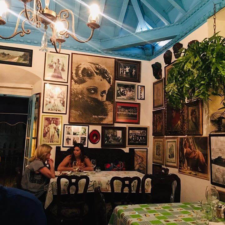 restaurant interior of Al Carbon Havana