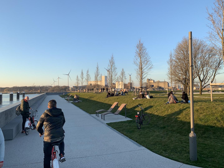 Antwerp - Droogdokkenpark