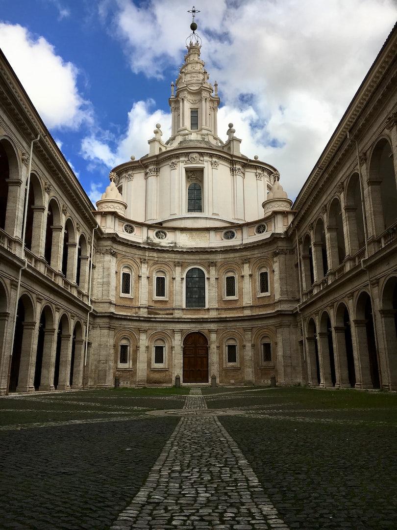 Rome - Sant'Ivo alla Sapienza