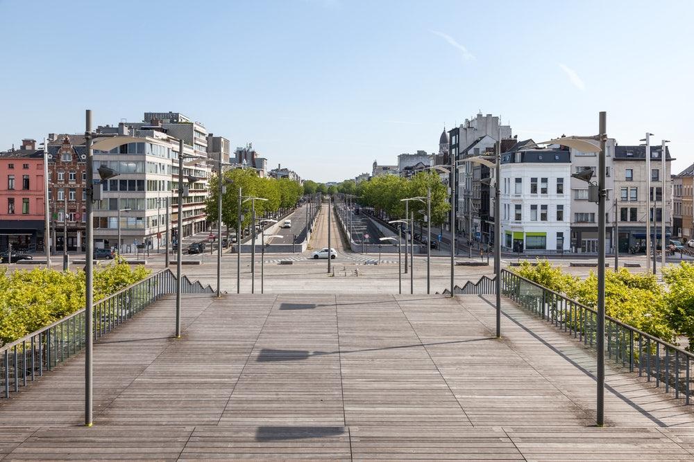 Antwerpen - Bolivarplaats Leien