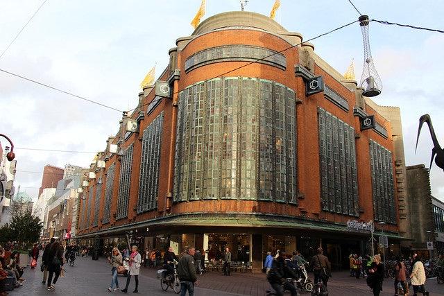 exterior of the Haagse Bijenkorf